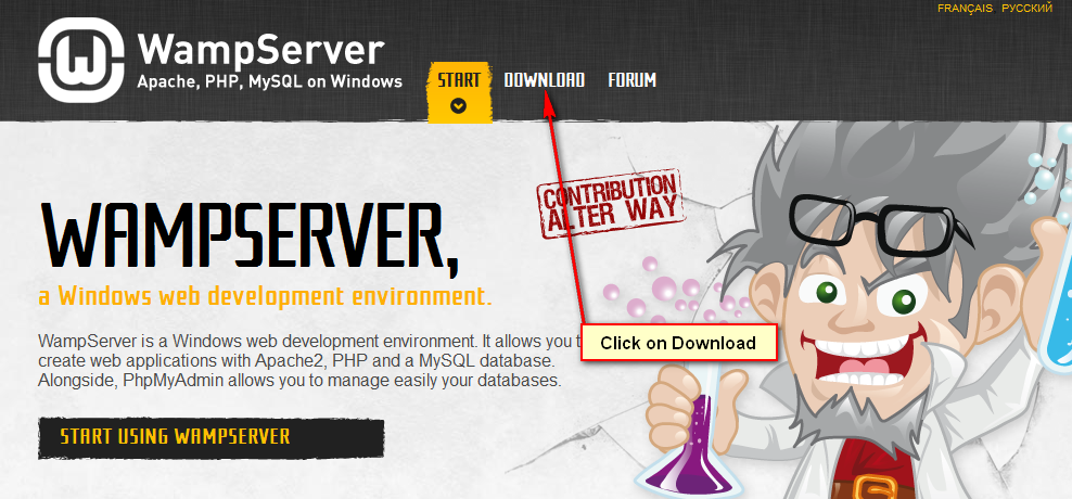 WAMP Server Download