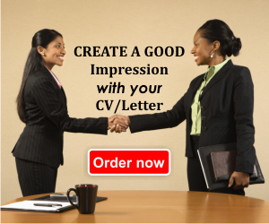 We create and CV an Cover Letter