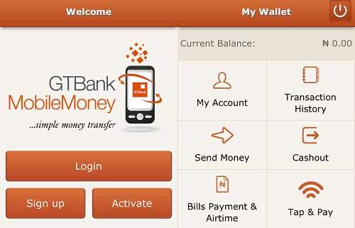 GTB banking portal
