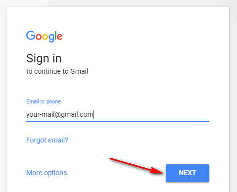 how to get a new gmail email account