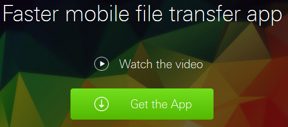 Xender file transfer and sharing app.