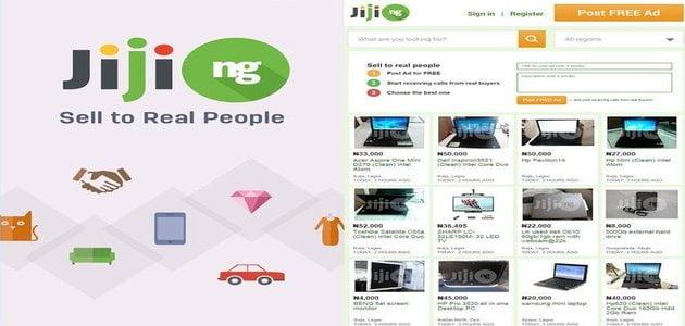 Jiji Nigeria website