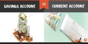 Current Account Vs Savings Account