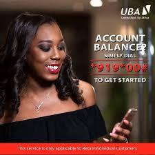 how to check uba account balance online