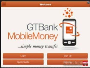 GTBank Mobile App - How To Download And Use GT World App