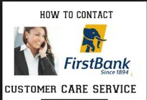 First bank Customer care number