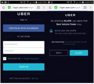 Uber London requirements