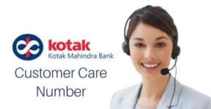 Kotak Mahindra Customer care service
