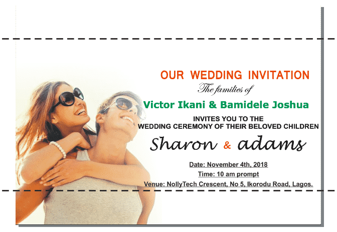 wedding card design templates in coreldraw