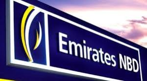 Emirates NBD bank in Dubai