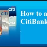 Citibank credit card application procedure.