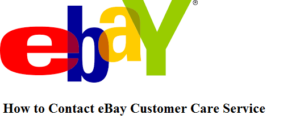 ebay customer service number