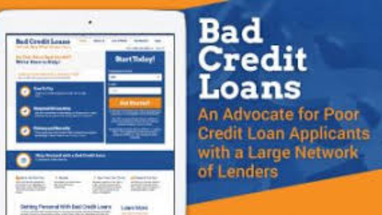 Best Place To Get A Loan >> Personal Loans For Bad Credit 5 Best Places To Get It