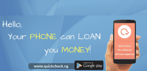 Borrow money online on QuickCheck