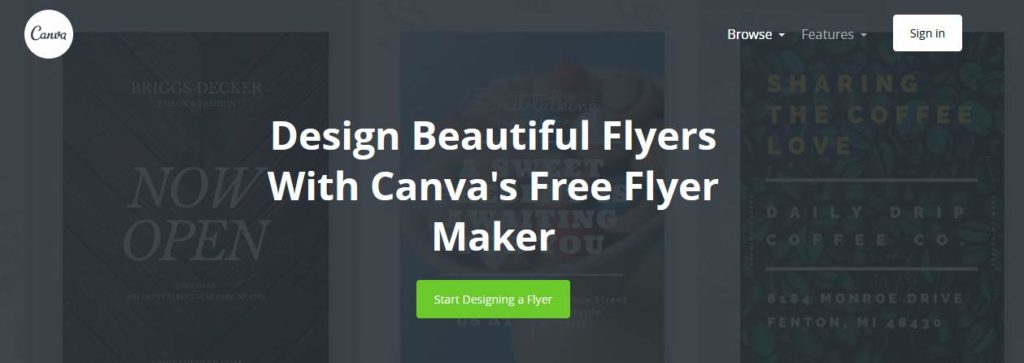Canva Free Online Flyer Maker
