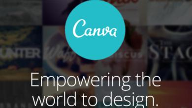Canva free flyer maker online