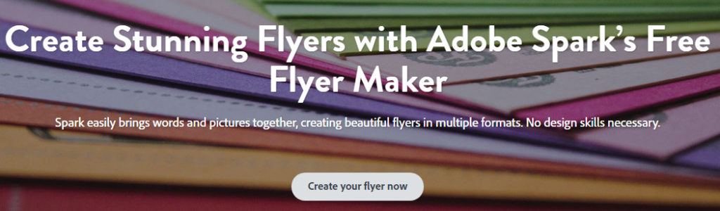 free flyer design software create flyer template online free design