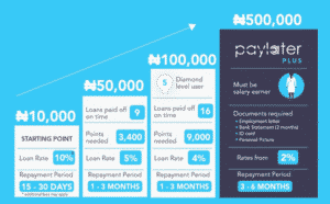 borrow money online instantly in Nigeria with Paylater