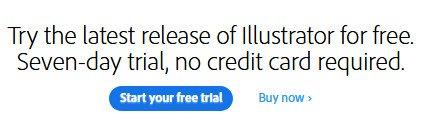 Adobe Illustrator free trial download