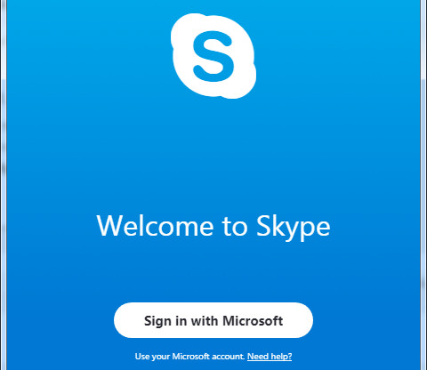 Welcome to Skype