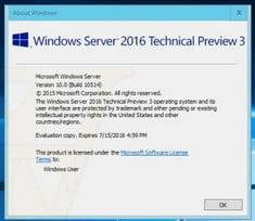 windows server 2016 price
