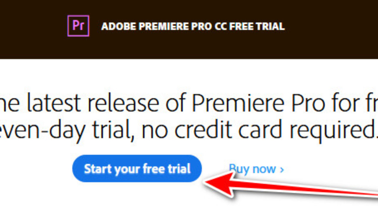 Adobe Premiere Pro Free Trial Download (Windows & Mac) - NollyTech
