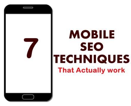 mobile seo techniques