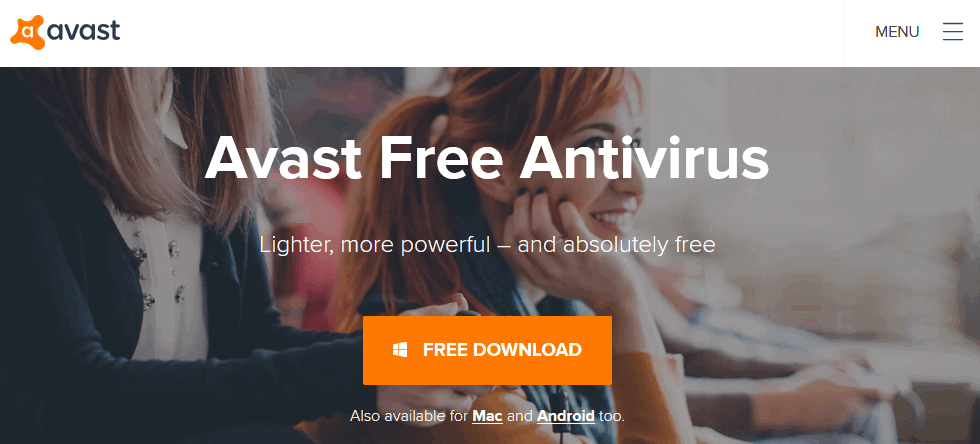 Avast Antivirus download for pc