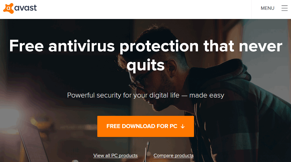 Avast antivirus software for windows 10