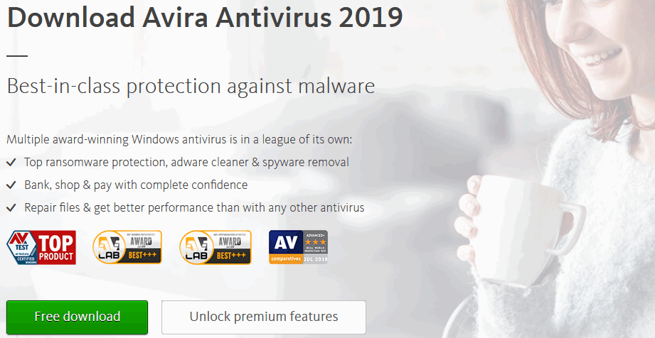 Avira antivirus software for windows 10