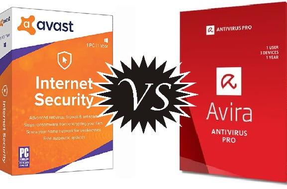 Avira vs Avast Antivirus