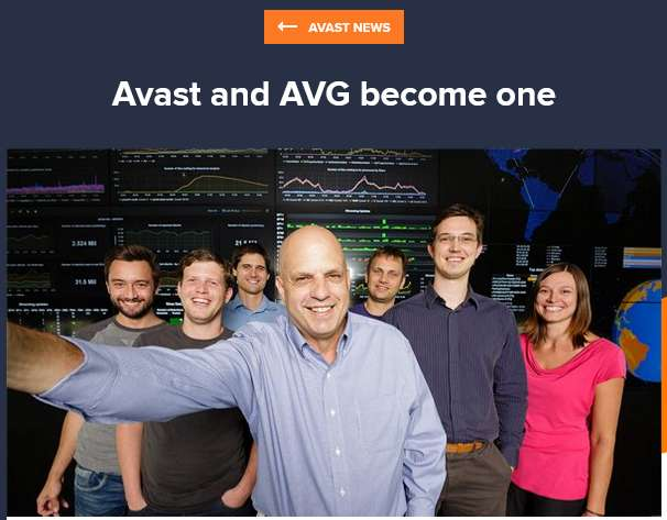 avast and AVG becomes one