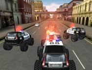 Crazy Monster Truck car games for kids