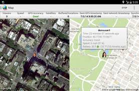 Real-Time GPS phone tracker