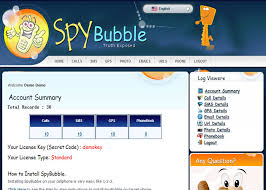 SpyBubble GPS phone tracker