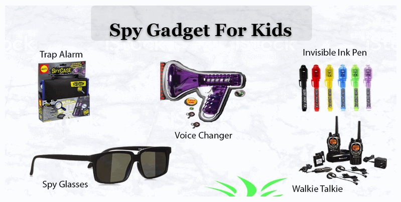 Spy Gadgets for kids pics