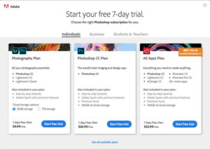 Photoshop Free Trial Download (Windows/Mac) - Latest Version