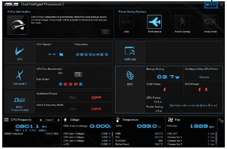 Asus cpu heat monitor