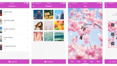 Instagram layout apps
