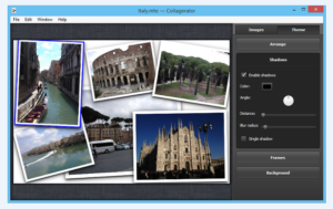Collage maker software - Collagerator