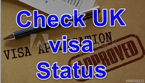check UK visa status-Visa Application