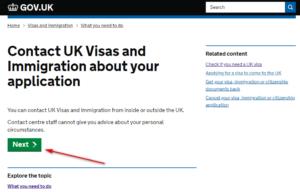 check UK visa status-Contact UK visa