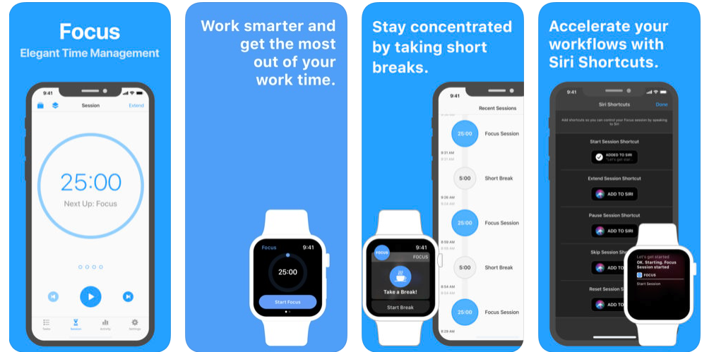 best time management app for android and iPhone