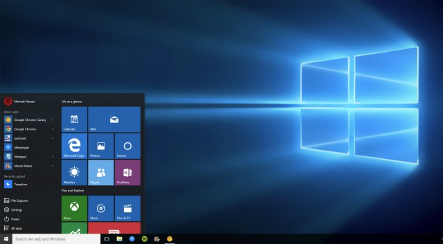 features of Windows 10