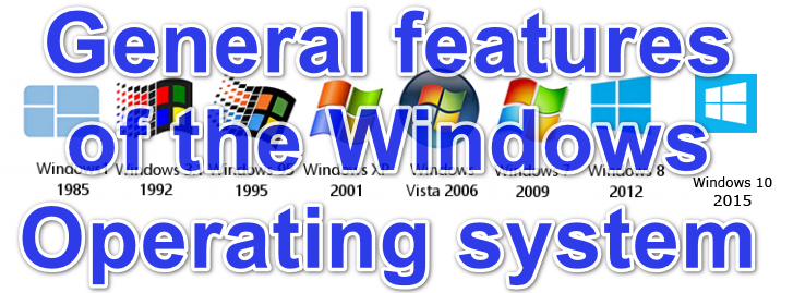 general features of the Windows operating system