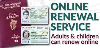 irish passport renewal