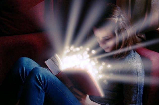 Reading books entertain you