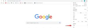 update Google chrome on windows 7-help button