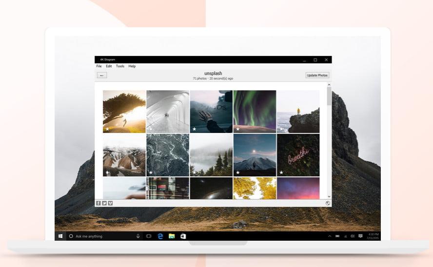 Instagram backup tools-4kStogram