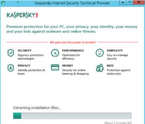 kerpasky Installing page